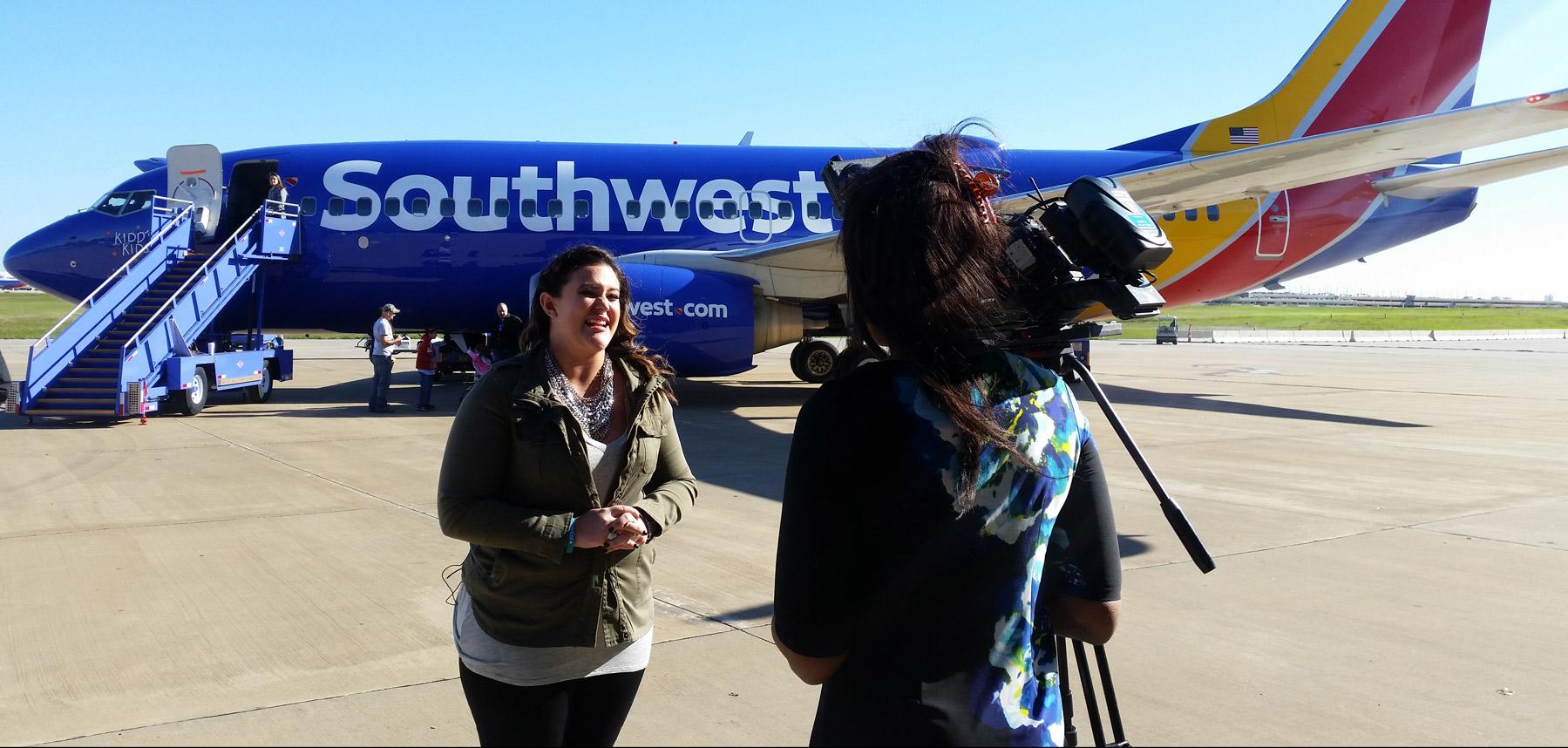 Caroline Kraddick interview southwest