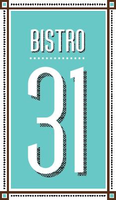 bistro 31 logo