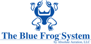 blue frog systems logo