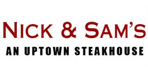 nick and sams steakhouse logo
